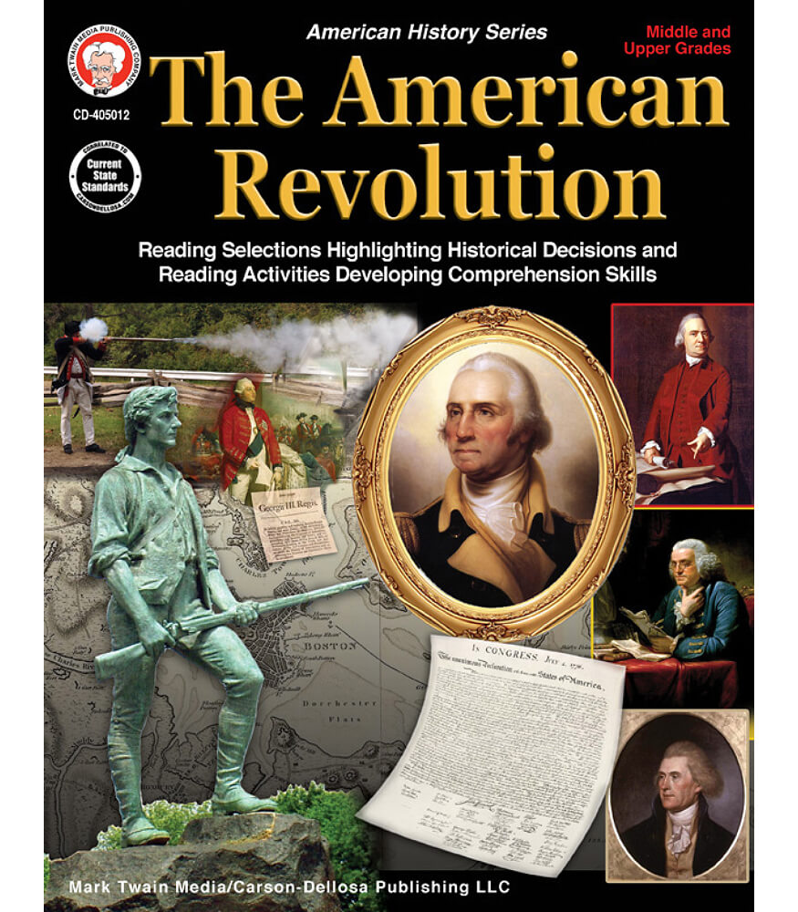 The American Revolution Workbook Grade 5-12 | Carson-Dellosa ...