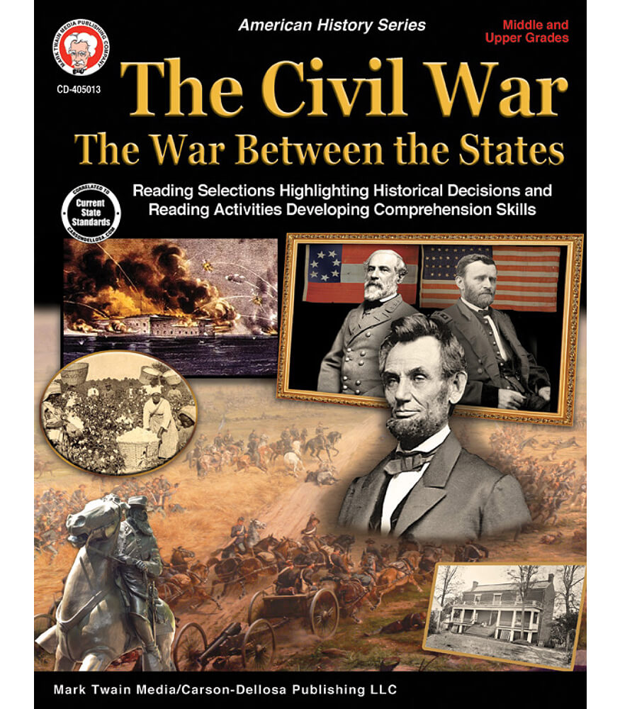 The Civil War: The War Between the States Workbook Product Image