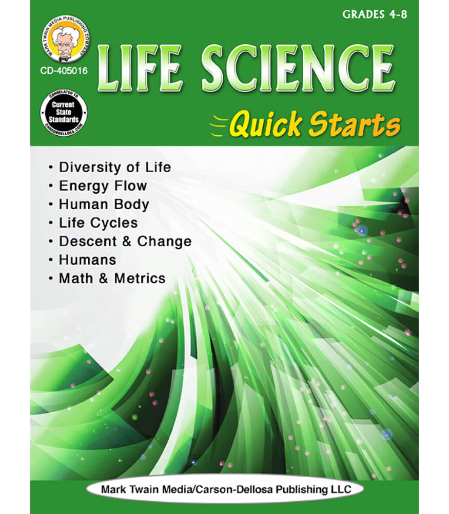 Life Science Quick Starts Workbook Product Image
