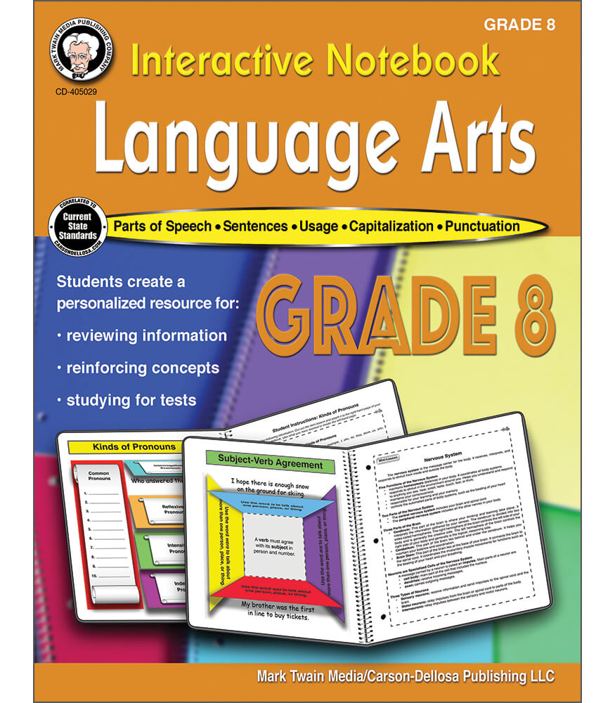 Interactive Notebook: Language Arts Workbook Product Image