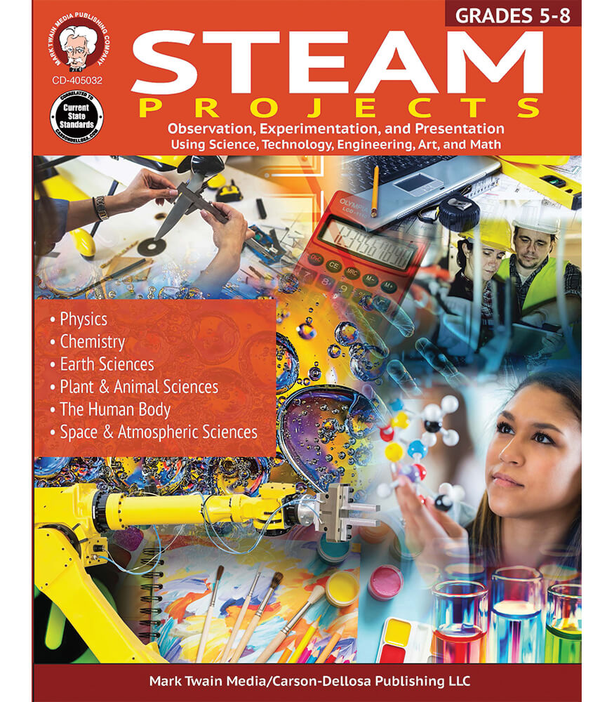 STEAM Projects Workbook Product Image