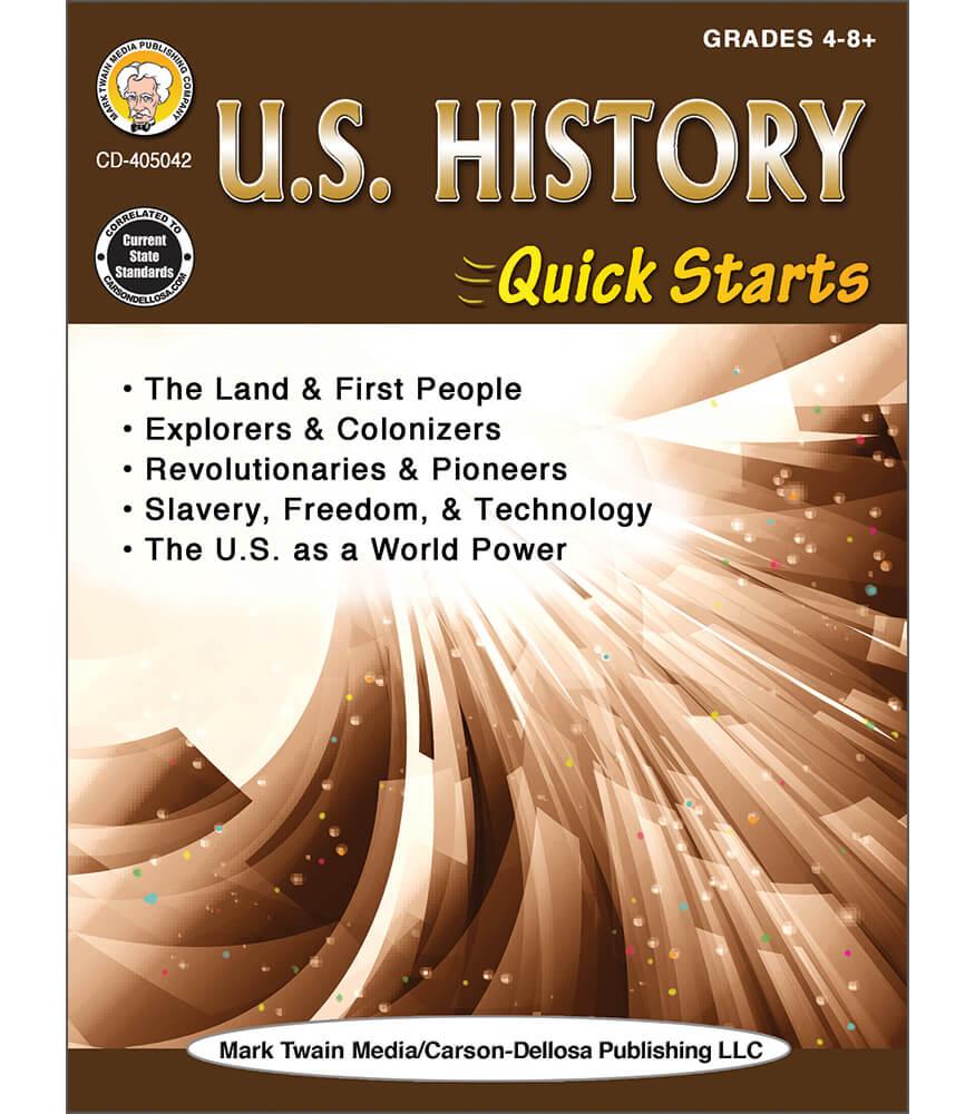 U.S. History Quick Starts Workbook Product Image