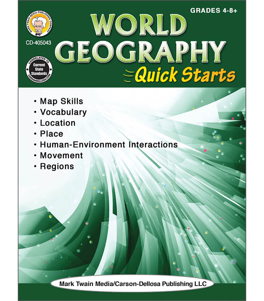 World Geography Quick Starts Workbook Product Image
