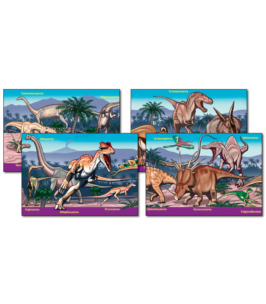 Dinosaurs Bulletin Board Set Product Image