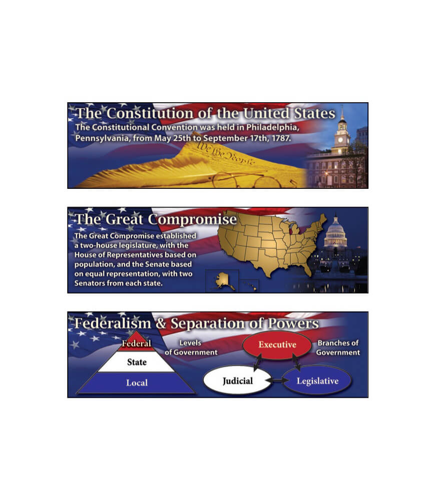 The Constitution of the United States Mini Bulletin Board Set Product Image