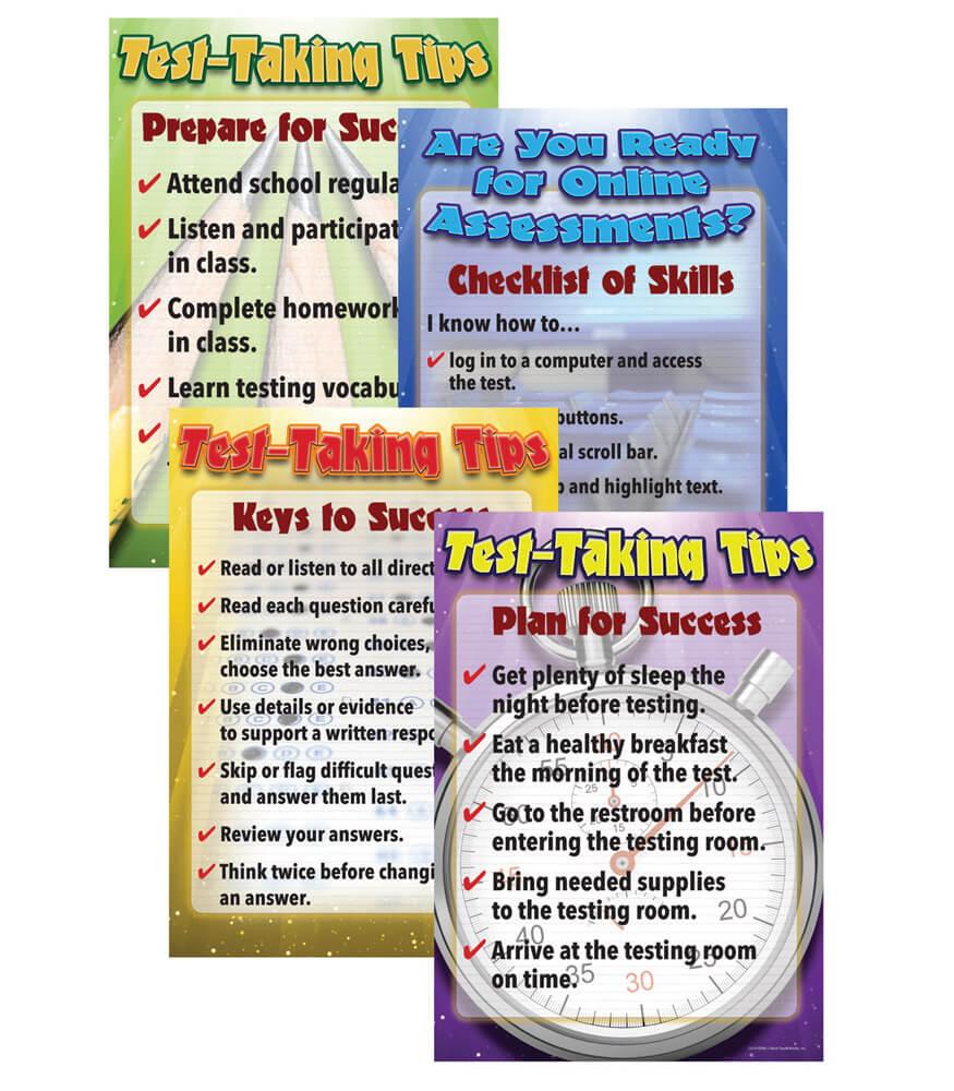 Language Arts Testing Tips  Bulletin Board Set Product Image