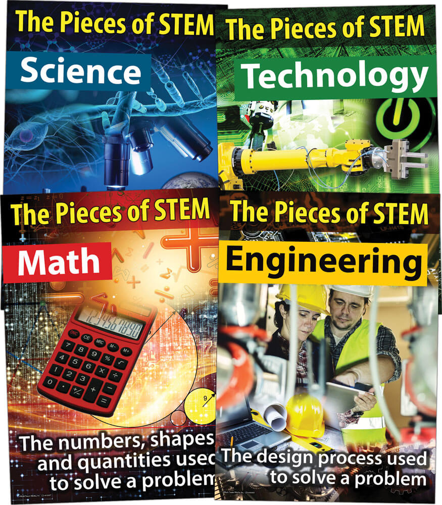 STEM Bulletin Board Set Product Image