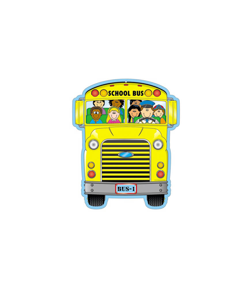 School Bus Two-Sided Decoration Product Image