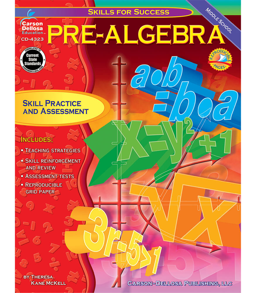 Pre-Algebra Resource Book Product Image