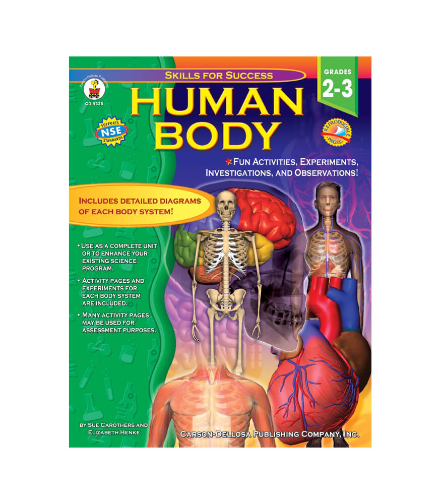 Human Body Resource Book Grade 2 3
