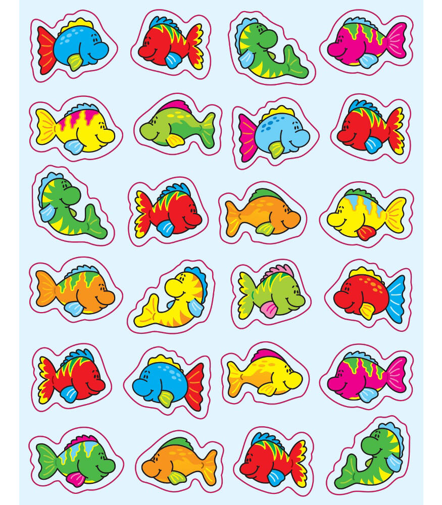 Fish Shape Stickers Product Image