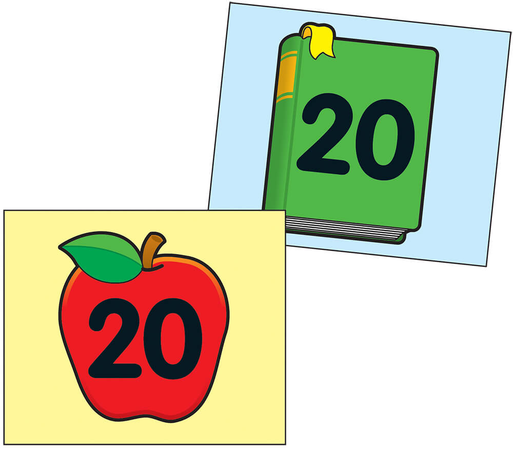 Apple/Book Calendar Cover-up Cut-Outs Product Image