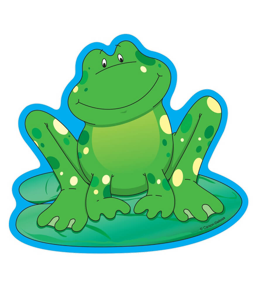 5534__frogs Cut Outs 5534 on Fun Spring Bulletin Boards