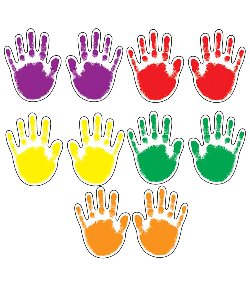 Handprints Assorted Cut-Outs Product Image