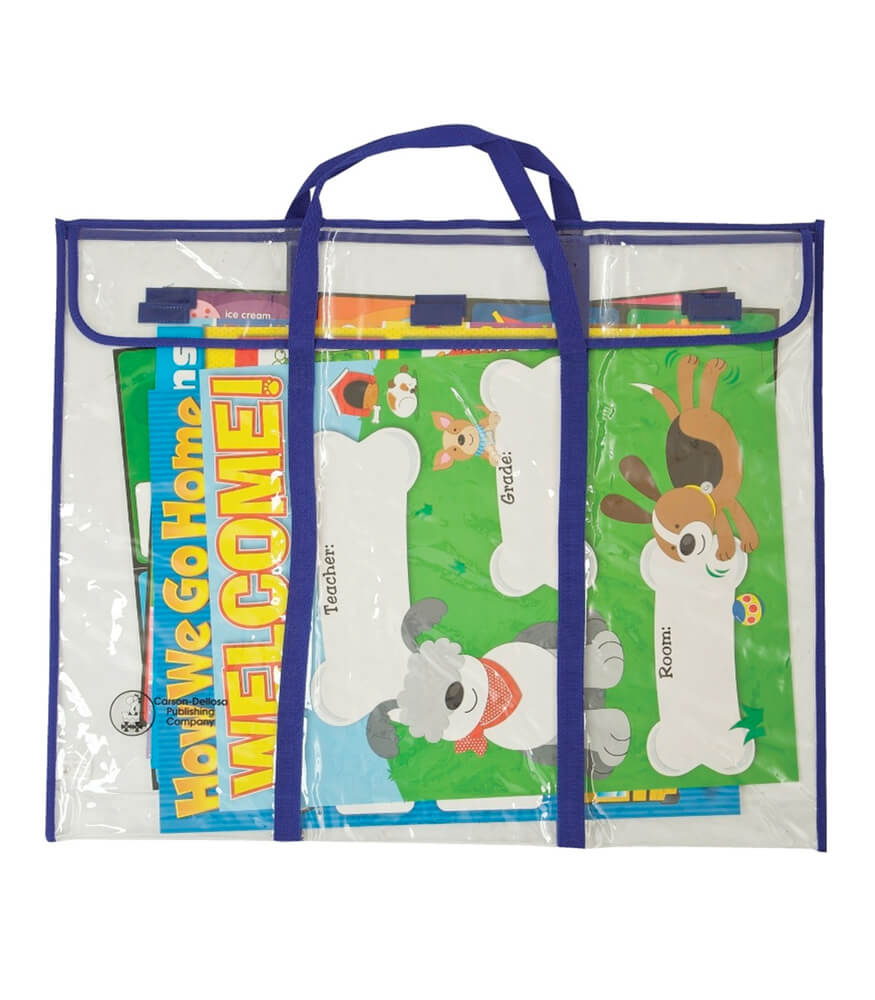 Bulletin Board Storage Bag Pocket Chart Storage Product Image