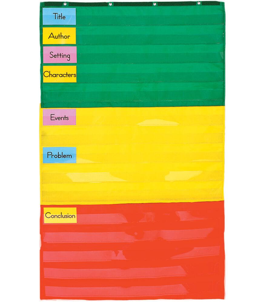 Adjustable Pocket Chart Product Image
