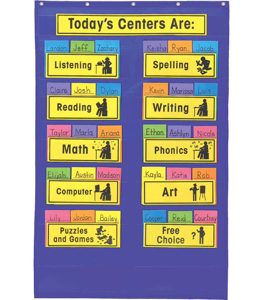 Centers Pocket Chart Product Image