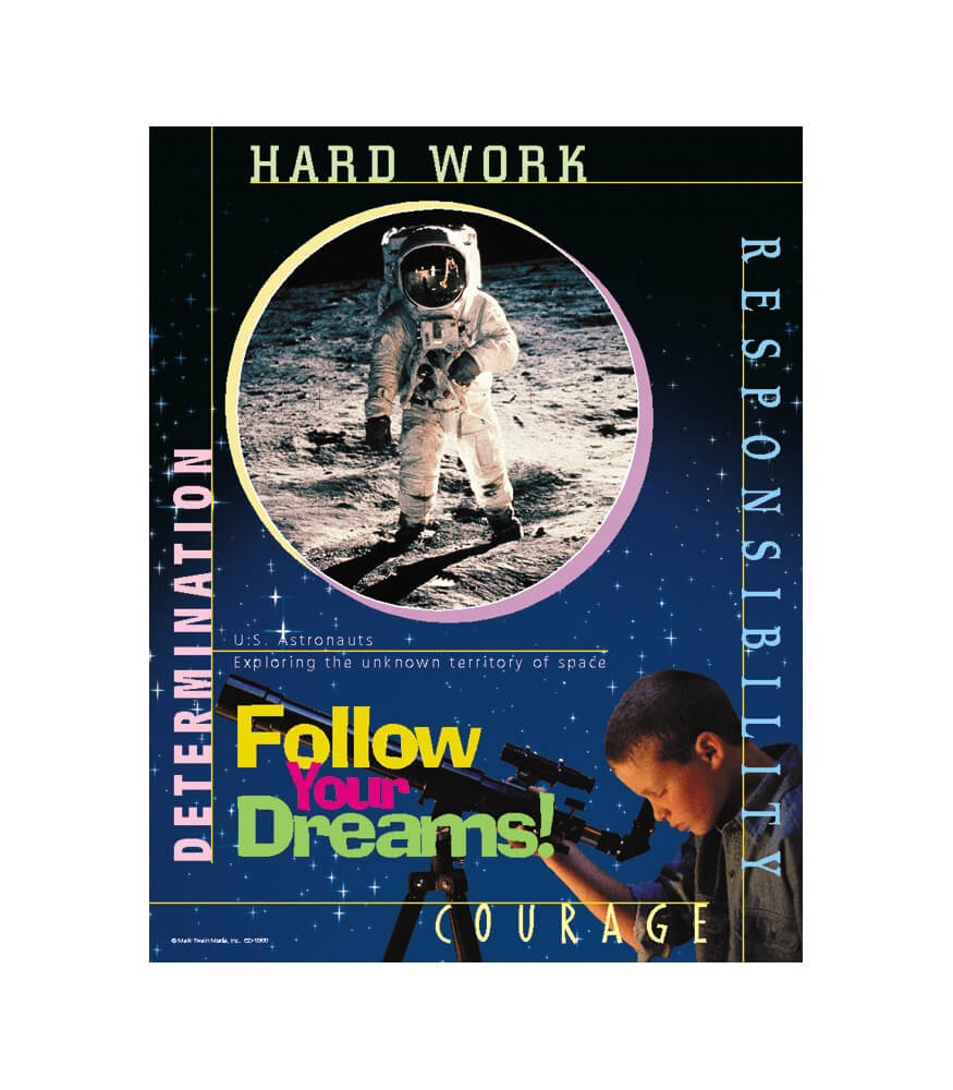 Follow Your Dreams Chart Product Image