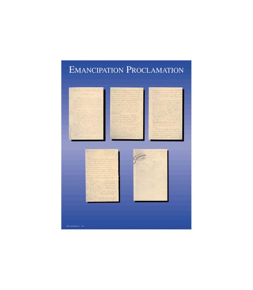 Emancipation Proclamation Chart Product Image