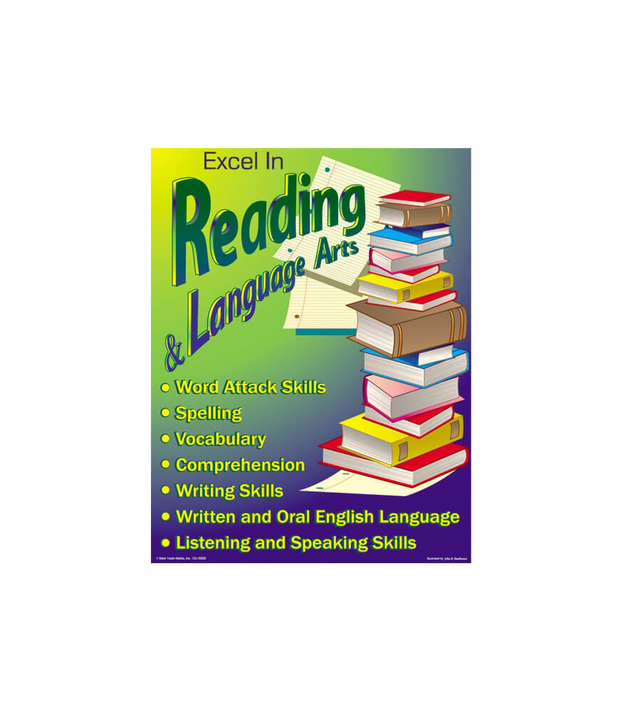 Excel in Reading and Language Arts Chart Product Image