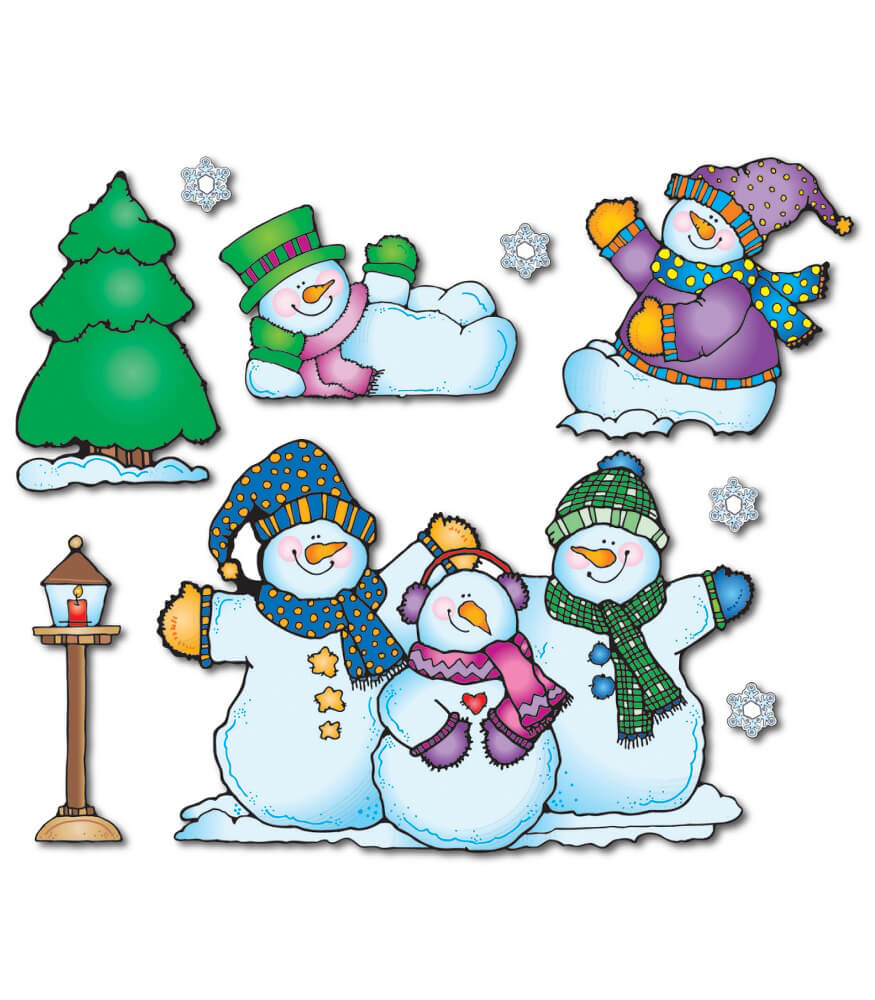 Snow Pals Bulletin Board Set Product Image
