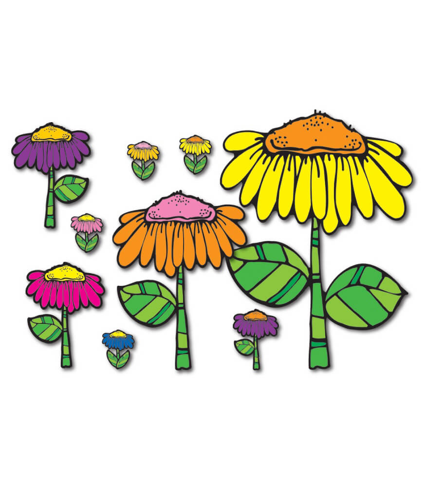 Flower Garden Bulletin Board Set Product Image