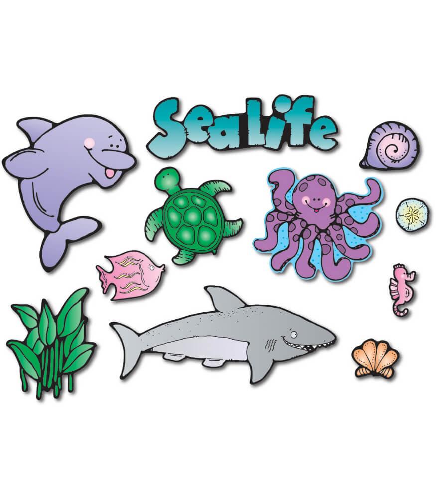 Sea Life Bulletin Board Set Product Image