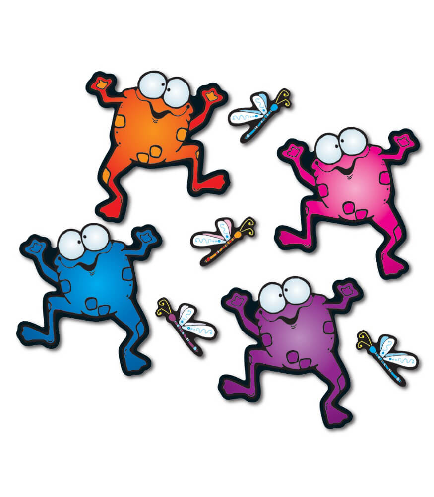 Colorful Froggies Bulletin Board Set Product Image