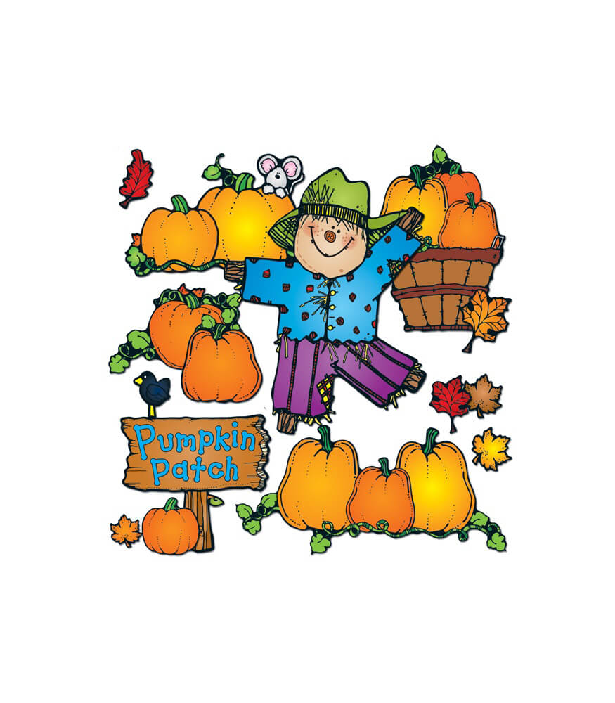Pumpkin Patch Bulletin Board Set Product Image