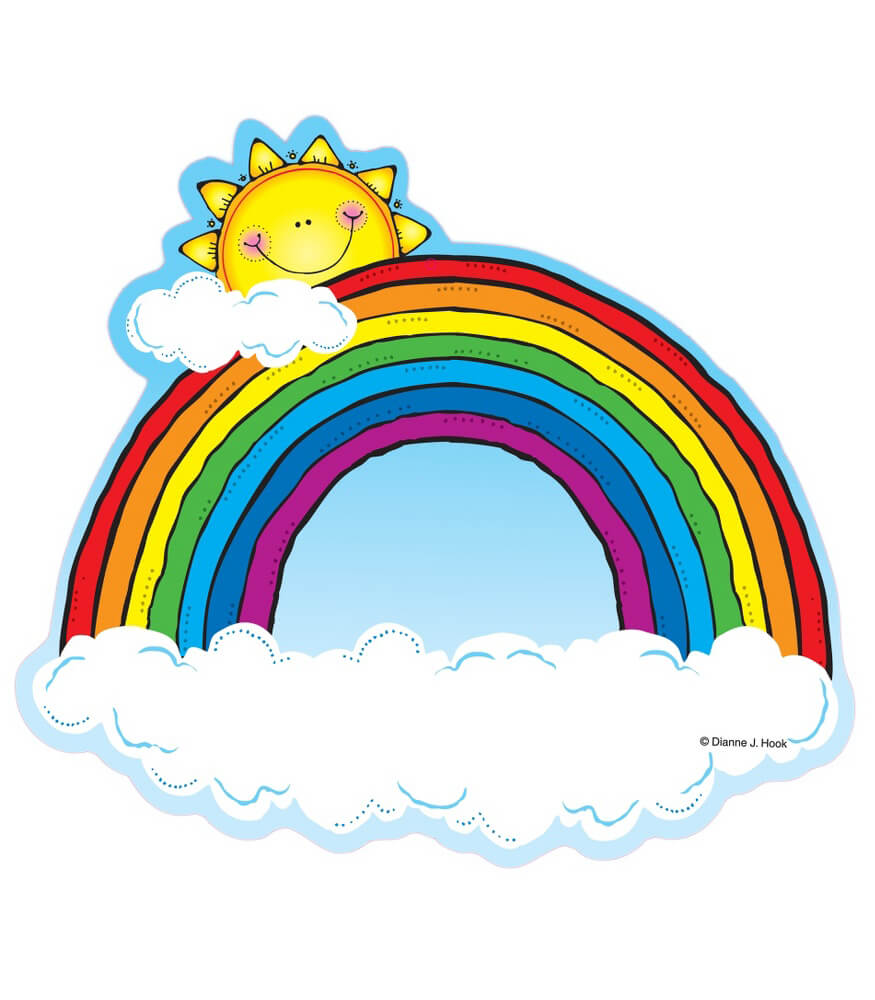 Rainbows Cut-Outs Product Image