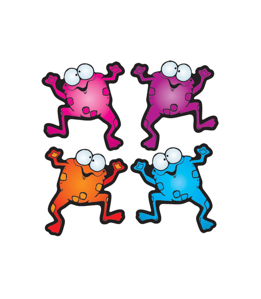 Colorful Froggies Cut-Outs Product Image