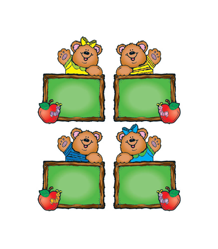 Chalkboard Bears Cut-Outs Product Image
