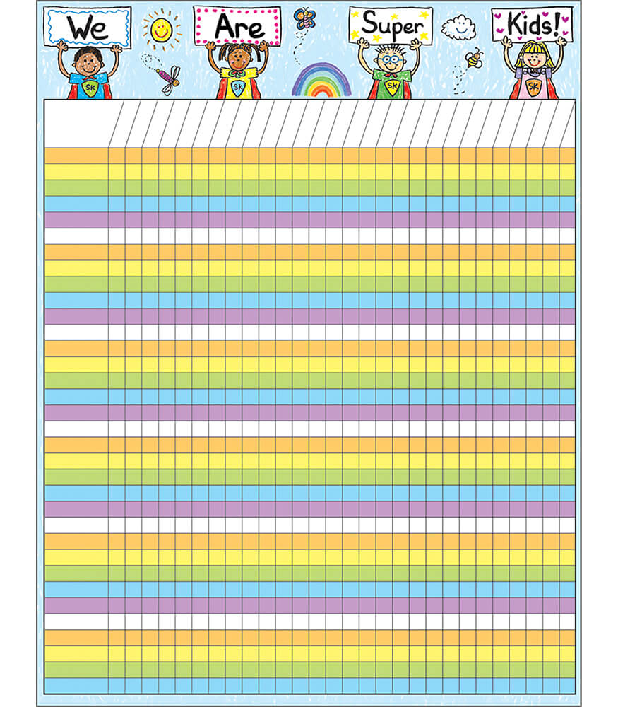 Super Kids Incentive Incentive Chart Product Image