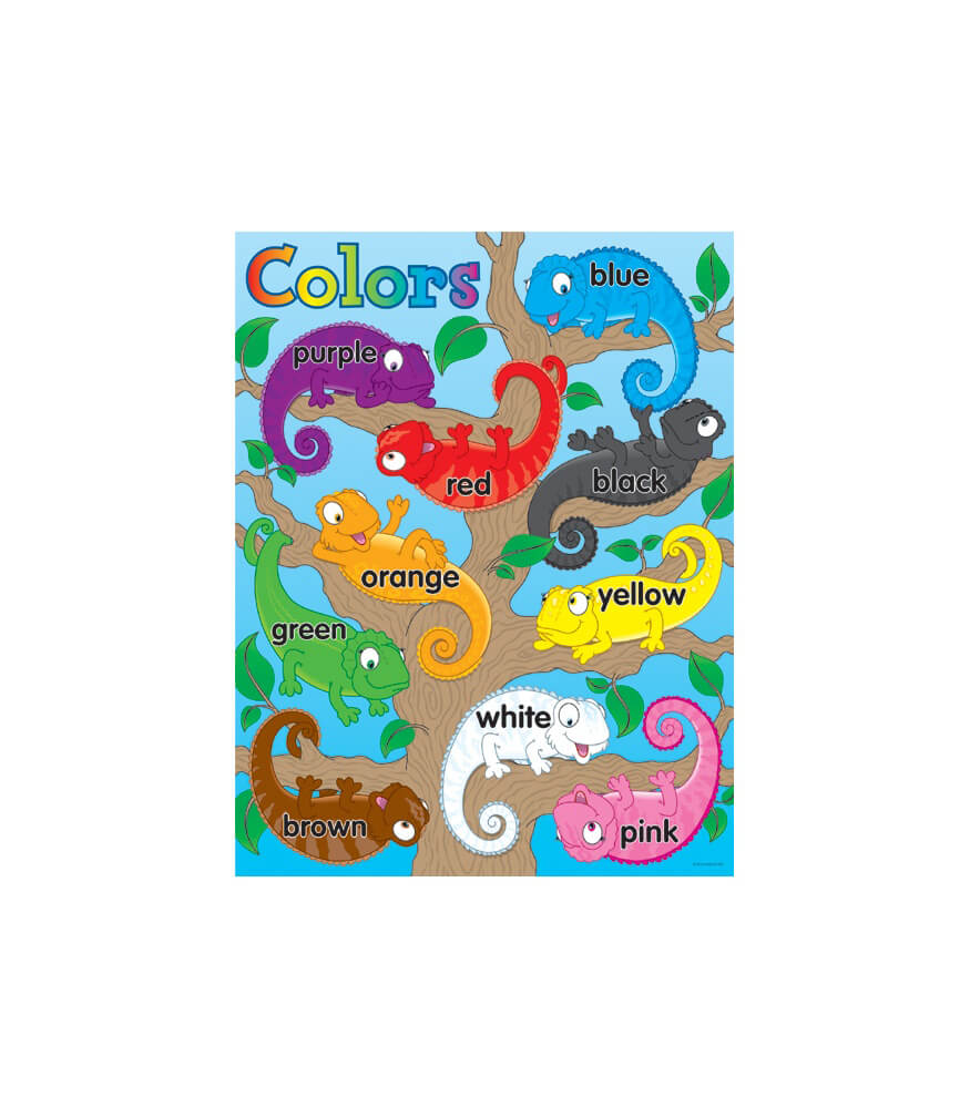 Color Chameleons Chart Product Image