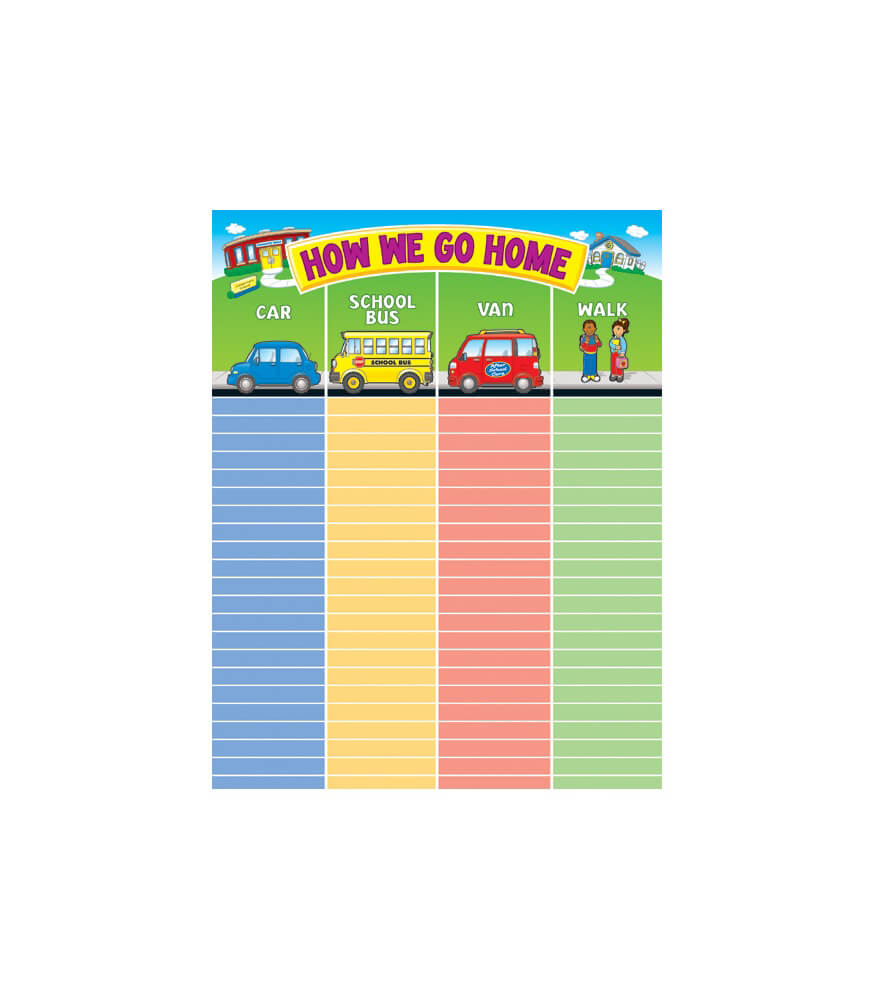 How We Go Home Chart Product Image