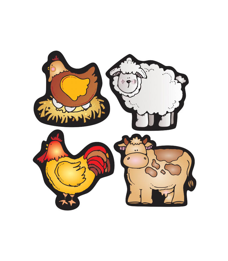Farm Friends Shape Stickers Product Image