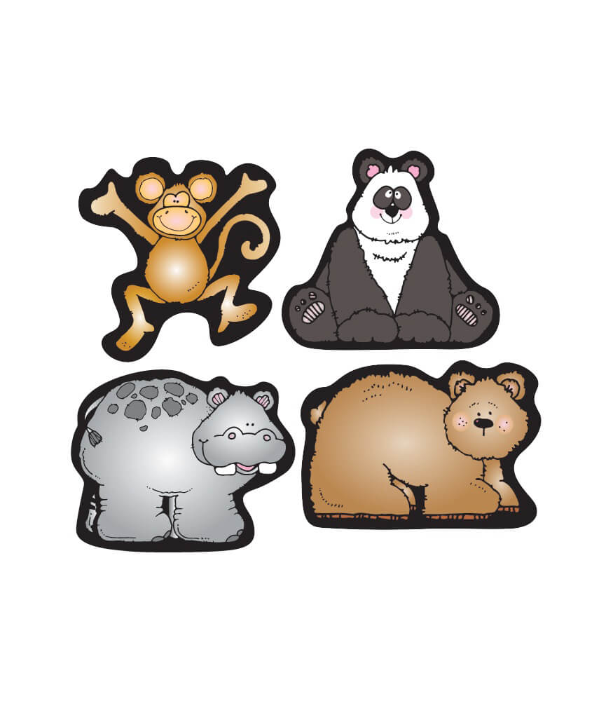 Zoo Friends Shape Stickers Product Image