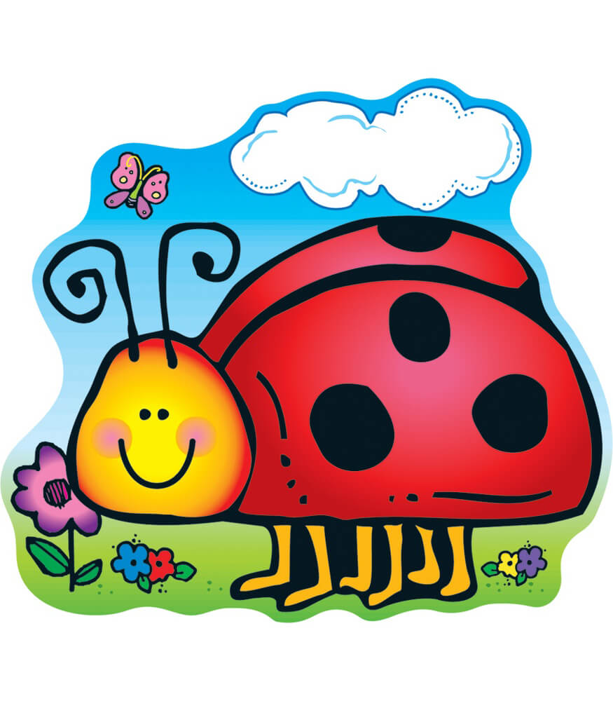 Ladybug Two-Sided Decoration Product Image