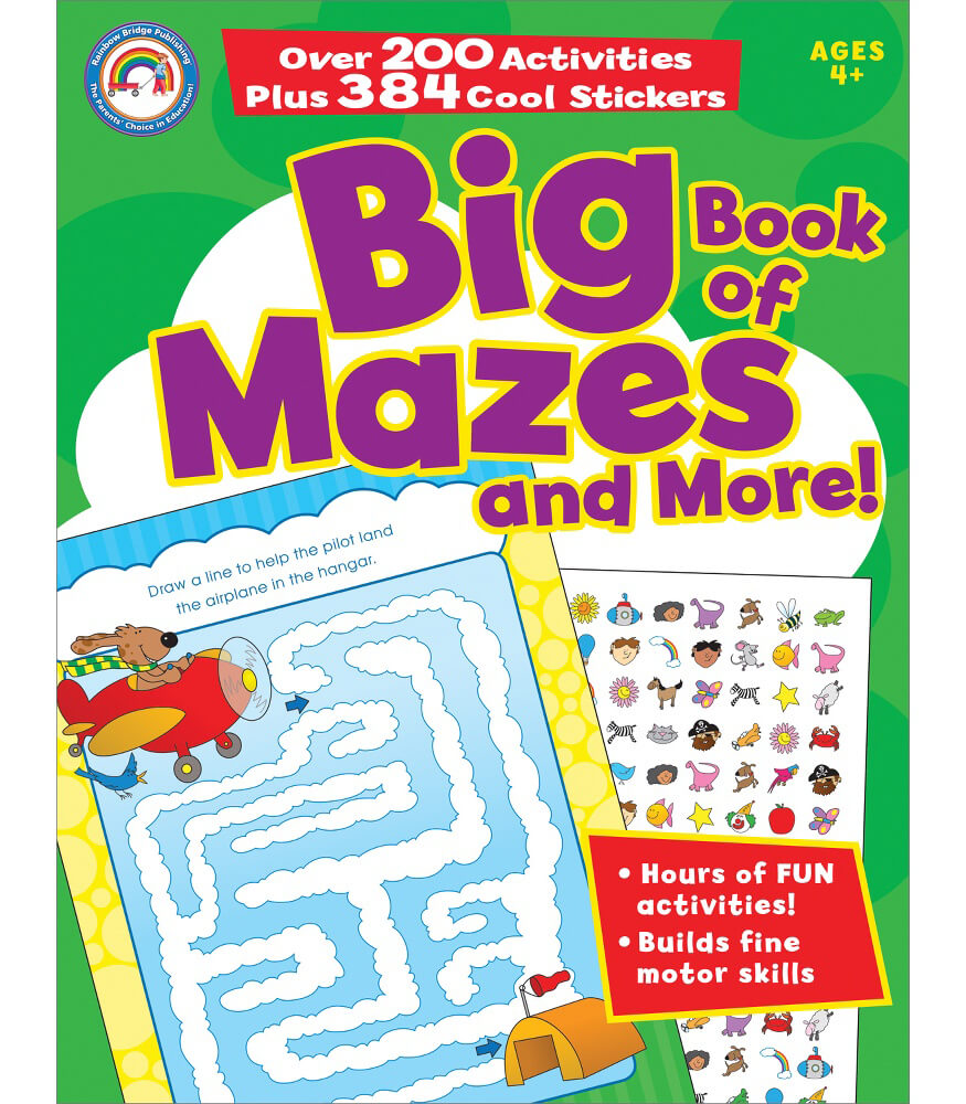 Big Book of Mazes and More! Activity Book Product Image