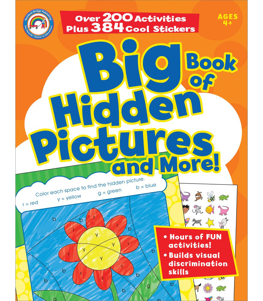 Big Book of Hidden Pictures and More! Activity Book Product Image