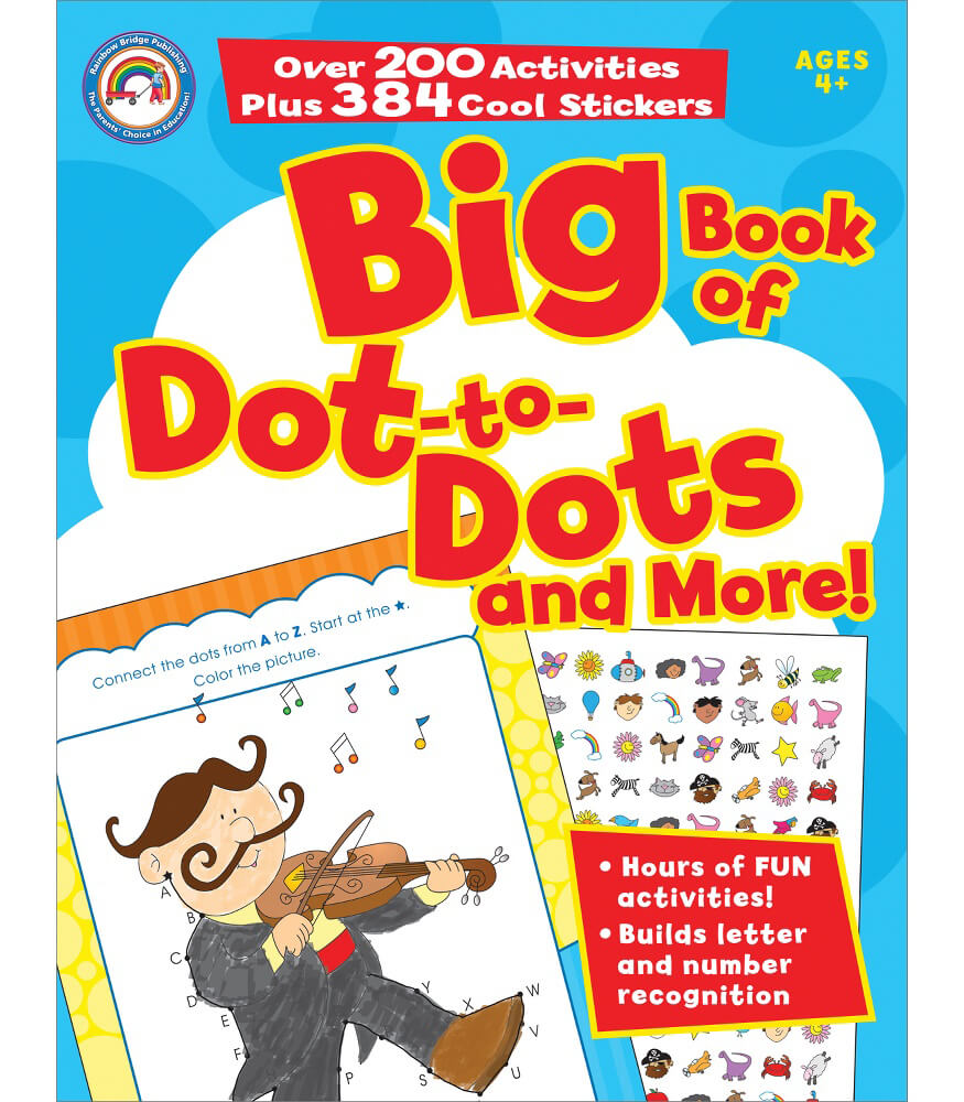 Big Book of Dot-to-Dots and More! Activity Book Product Image