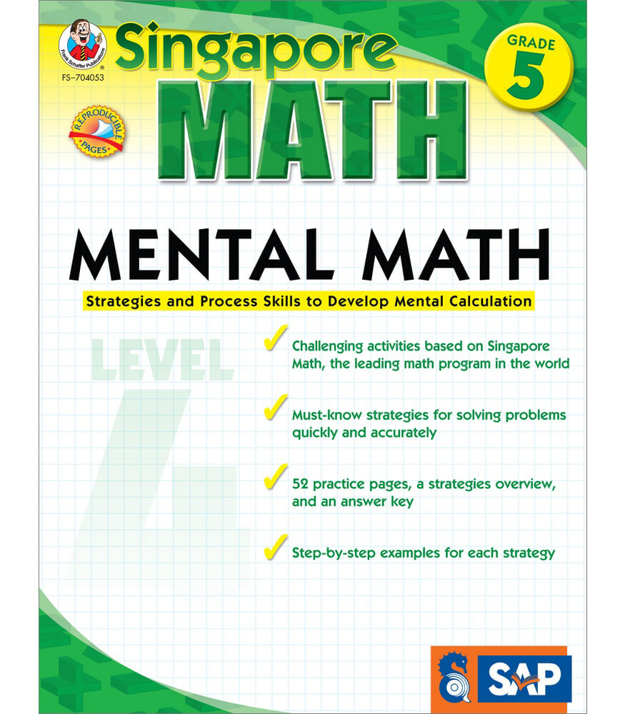 Mental Math Workbook Product Image