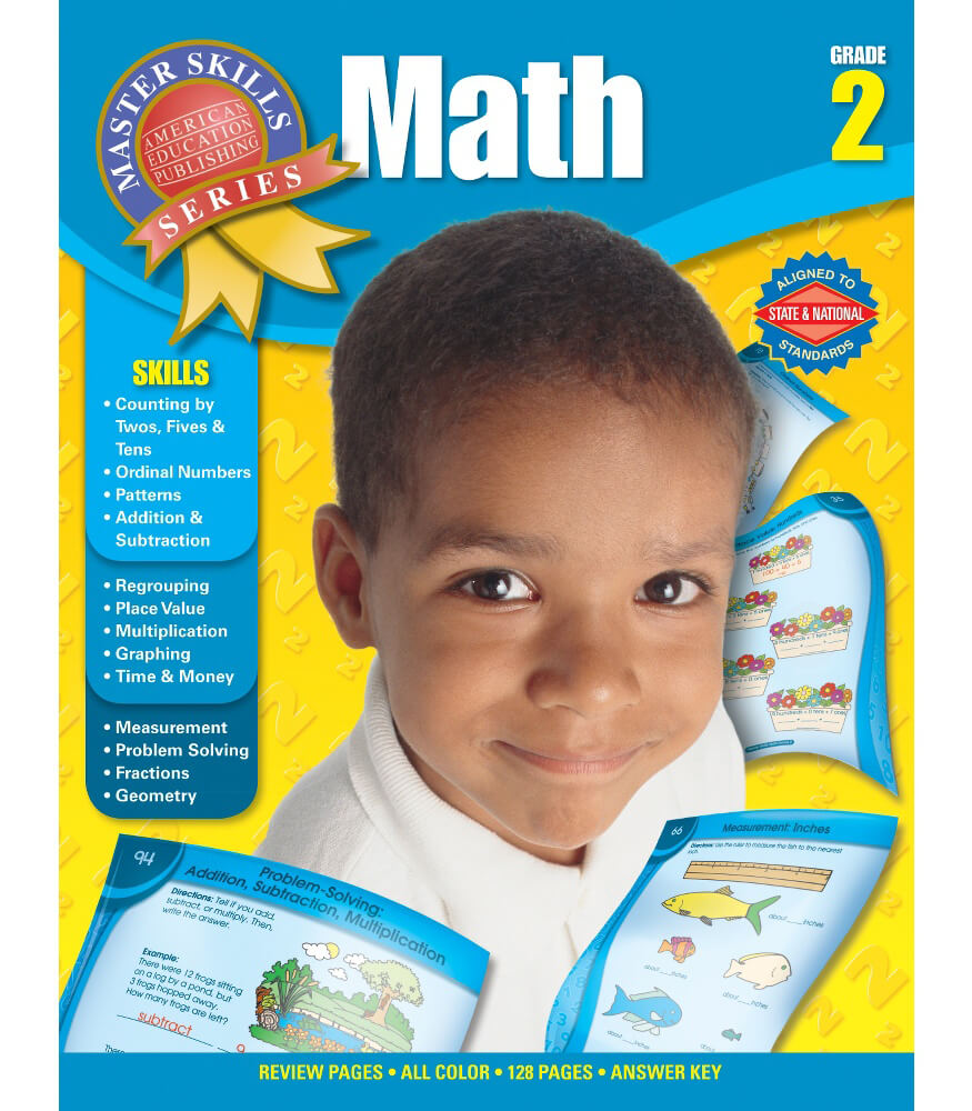 Master Skills: Math Workbook Product Image
