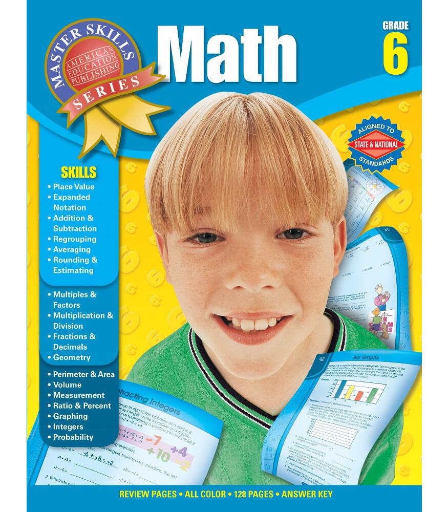Master Skills: Math Workbook Product Image