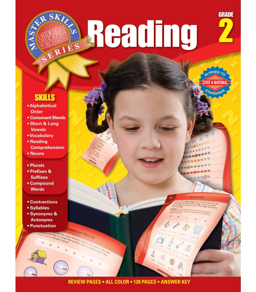 Master Skills: Reading Workbook Product Image