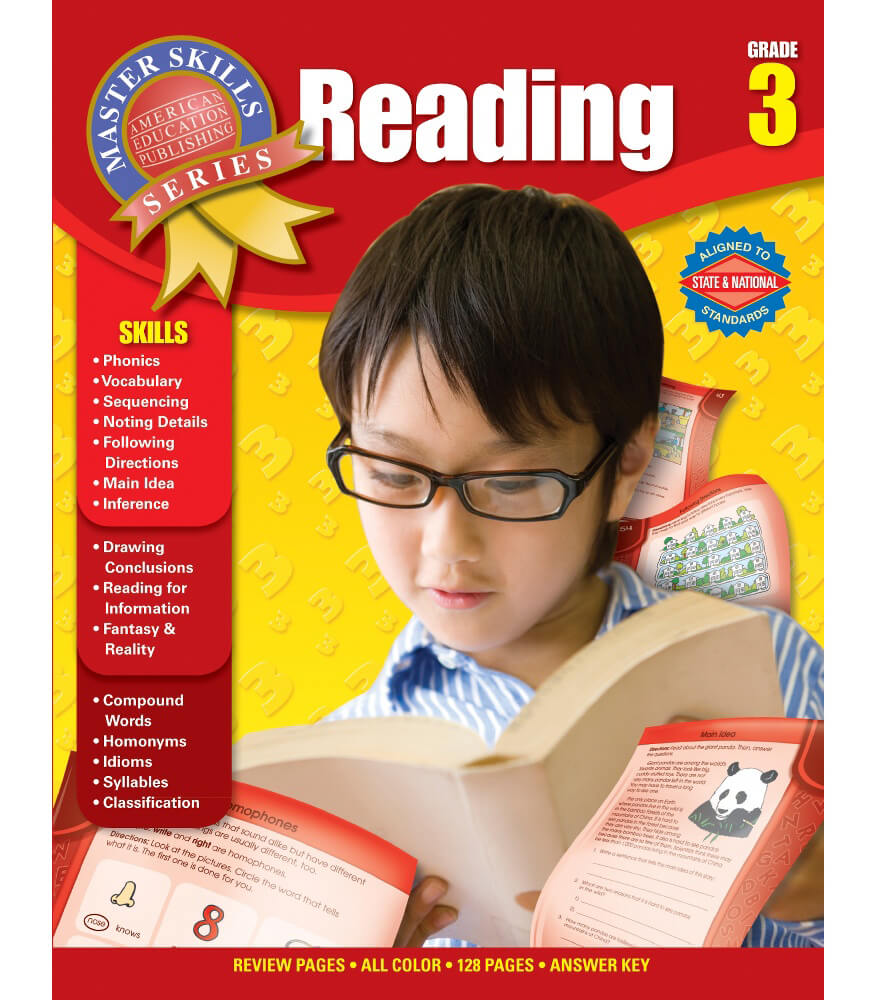 Master Skills: Reading Workbook