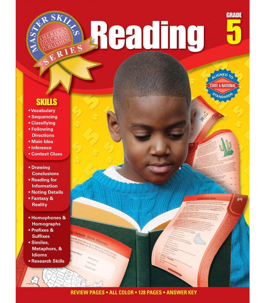 Master Skills: Reading Workbook Product Image