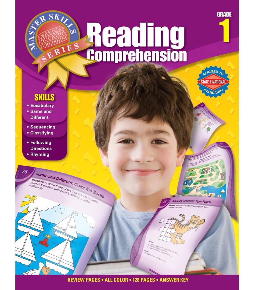Master Skills: Reading Comprehension Workbook Grade 1 | Carson ...