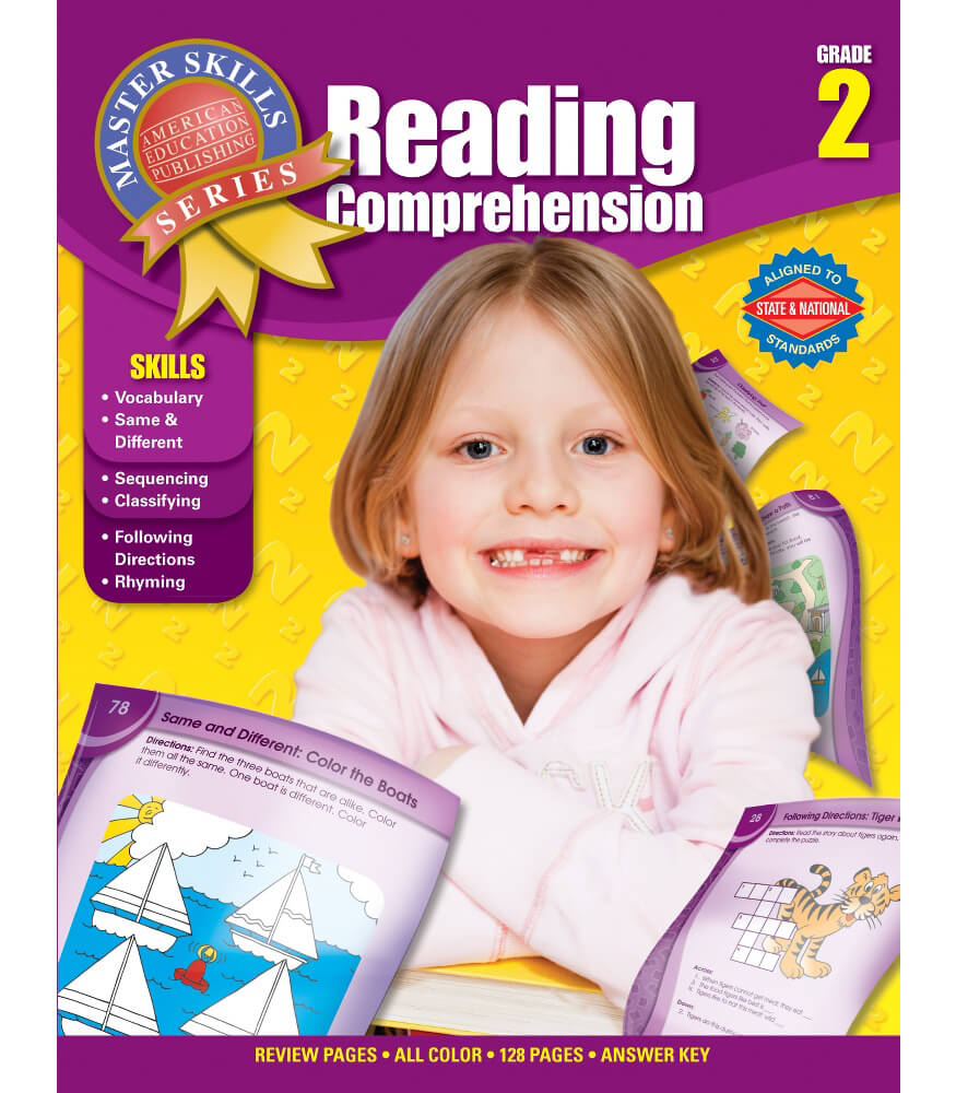 Master Skills: Reading Comprehension Workbook Product Image