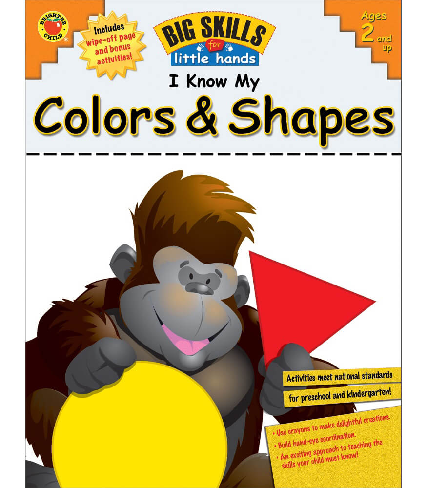 I Know My Colors & Shapes! Workbook Product Image